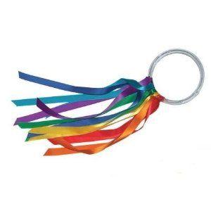 amazon.com Dancing Rainbow Hoops...make these!!