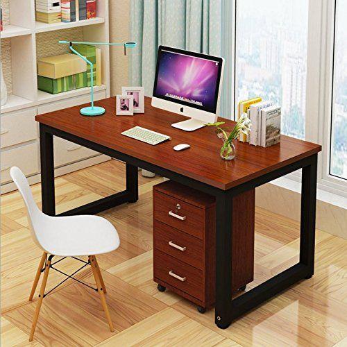 Comfortableplus Modern Simple Computer Desk Pc Laptop Study Table Office Desk Workstation F Muebles De Oficina En Casa Muebles Para Pc Muebles Para Computadora
