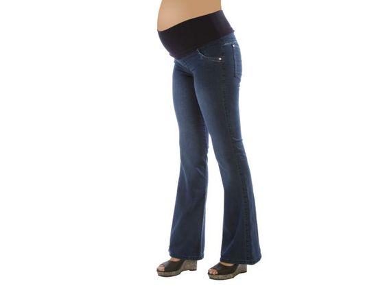 Jean oxford embarazada - ¿Qué será? - Blunki  - Futura mamá - Embarazada - Ropa embarazo #Embarazo  Short de embarazada