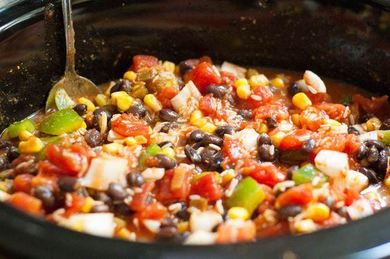 Slow Cooker Black Bean Burritos | Recipe | Slow cooker ...