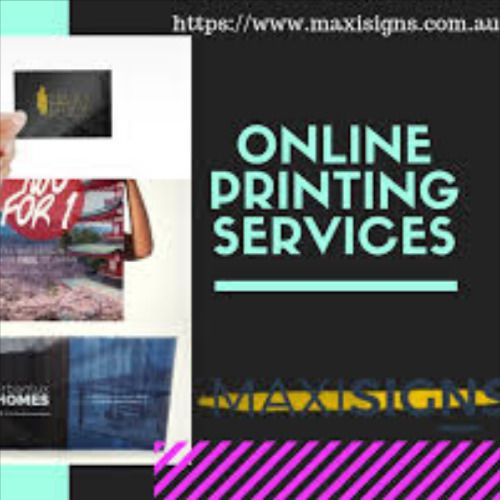 Online Printing Services In Australia Are Available Maxi Signs Provides You Best Printing In 2020 With Images Online Printing Services Printing Business Online Printing