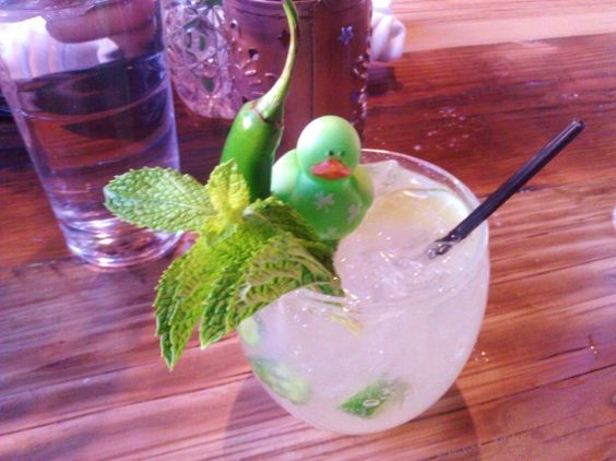 Lucky Duck #cocktails