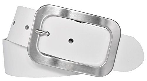 Herren Gürtel Klassisch Grau Breite 3,6 cm 110 115 120 125  cm