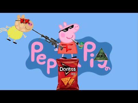 Mlg Peppa Pig Pedro Gets Rekt Parody Youtube Snoop Dog