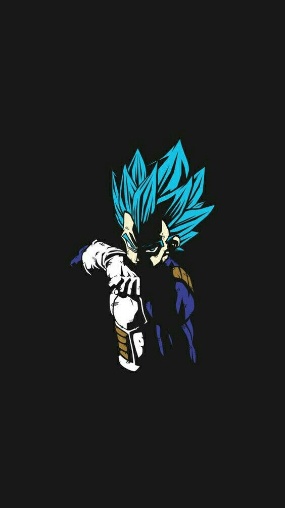 Black Vegeta Iphone Wallpaper