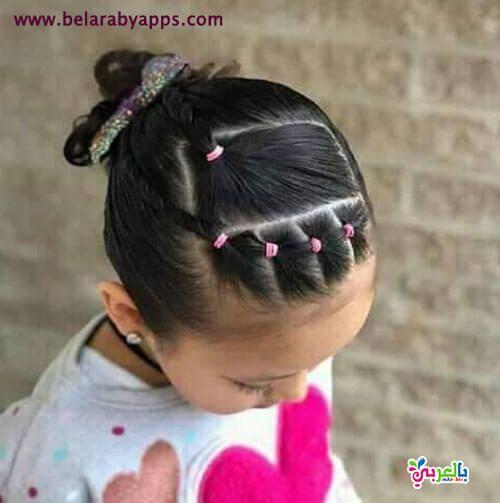 تسريحات اطفال سهلة ومميزة للمدرسة Hair Styles Baby Hairstyles Little Girl Hairstyles