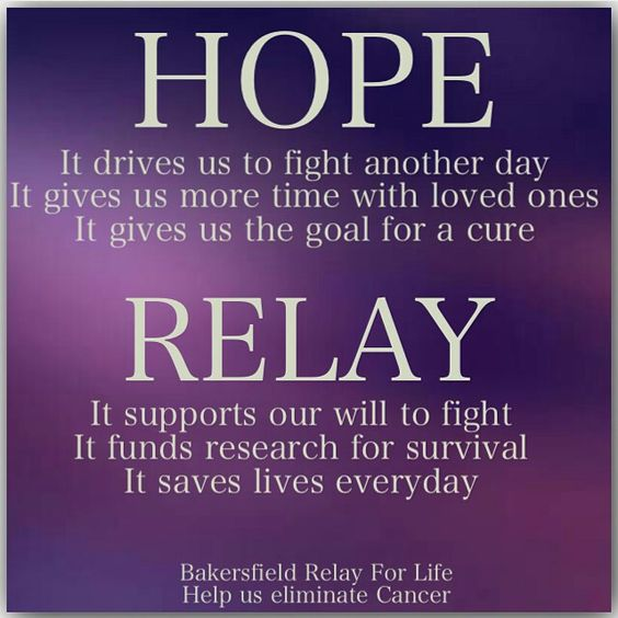 Relay For Life Quotes: We On Pinterest