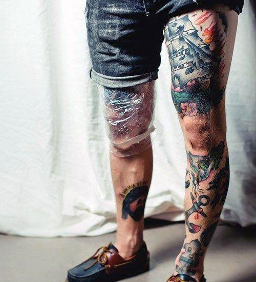 125 Best Leg Tattoos For Men Cool Ideas Designs 2021 Guide Leg Tattoo Men Best Leg Tattoos Thigh Tattoos Women