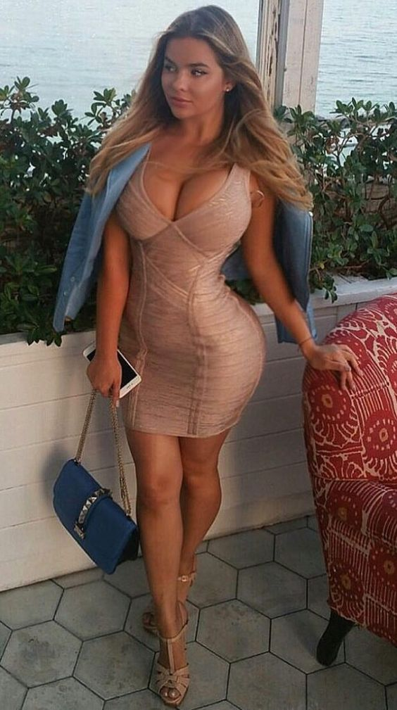 Tight Short Dress Mature 107