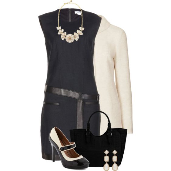 DifferentSpin LilBlackDress, created by hollyhalverson on Polyvore