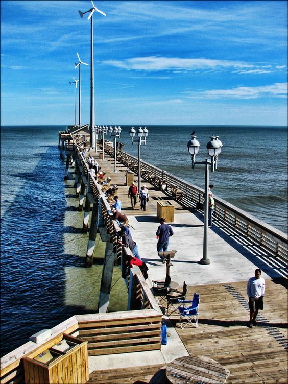 Fishing on pinterest for Nags head fishing pier