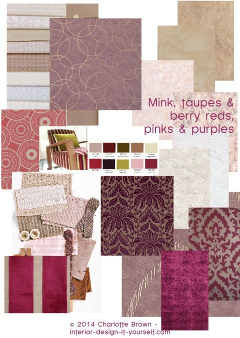 what colors go with taupe amp mink berry shades living
