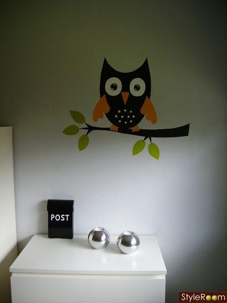 väggmålning,postlåda