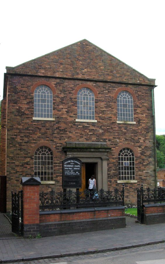 The Methodist Chapel at The Black Country Living Museum in Birmingham