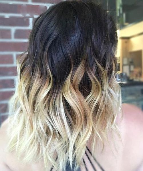 Finest Black Ombre Hairstyles To Get A Charming Look This Year Styles Prime Black Hair Ombre Ombre Hair Blonde Blonde Tips