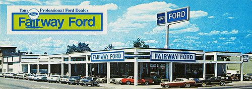 1970 S Fairway Ford Dealership Stockton California Car