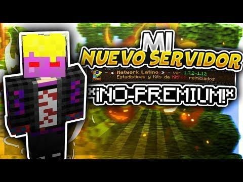Mi Nuevo Servidor De Minecraft No Premium De Skywars Broadway Shows Minecraft Broadway Show Signs