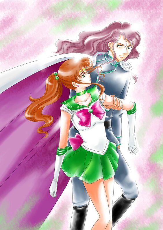 Sailor Jupiter And Nephrite Makoto & Nephrite ...