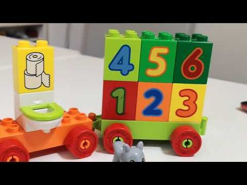 Toy Train Videos For Children Like Thomas Building Blocks Toys For Kids Colors And Numbers Youtube Toy Trains Videos Coloring For Kids Toy Train
