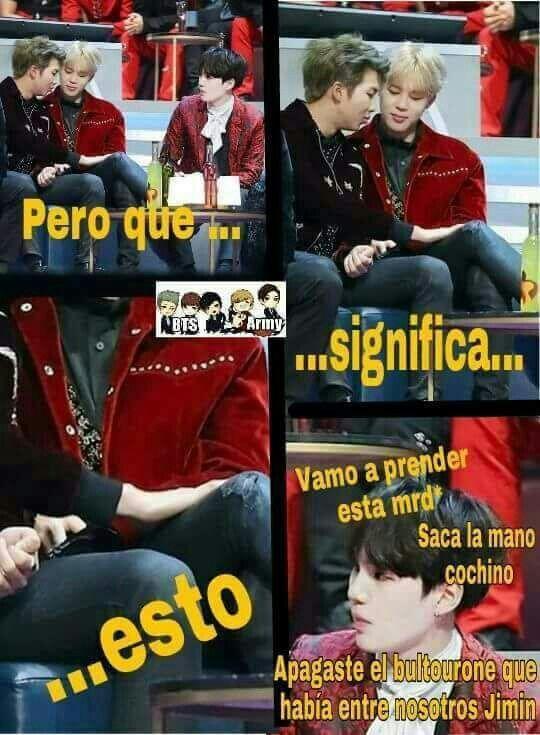 A No Justo En El Nanjin Y El Yoonmin Memes Coreanos Bts Memes Bts Memes Caras
