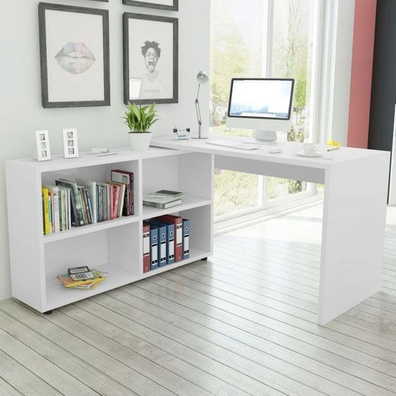 17 Awesome Stunning Minimalist Corner Desk Ideas With Images