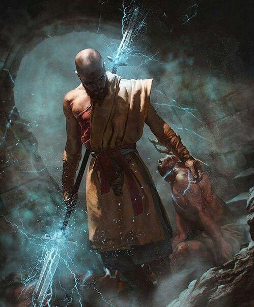 A Powerful Southern Warlock That Lives In The Santona Region In