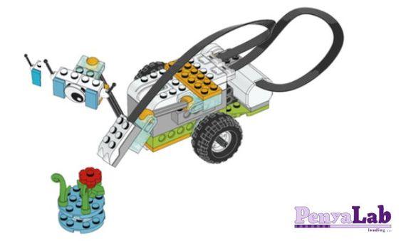 Lego wedo – Milo detector d'objectes