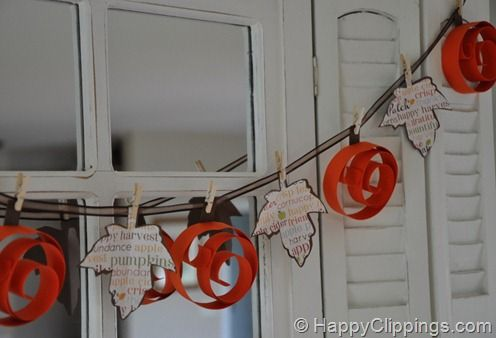 Interchangeable garland for different holidays and seasons