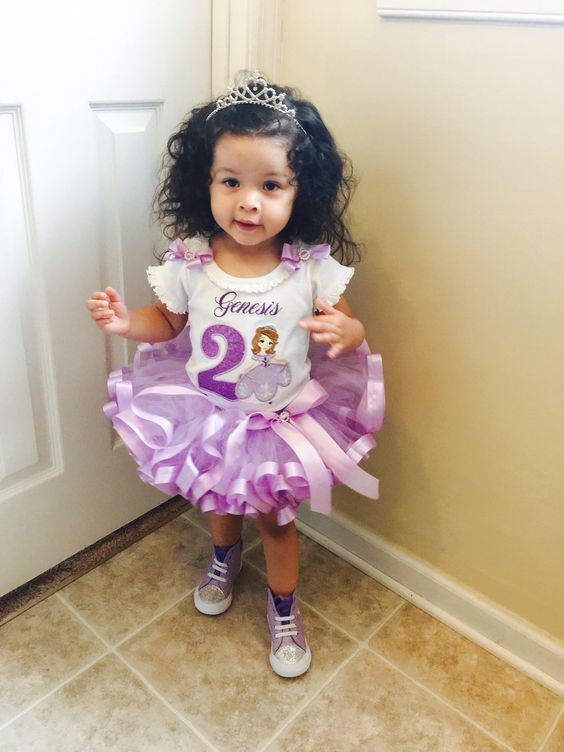 Sofia the first tutu outfit