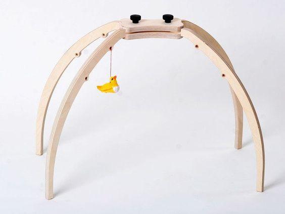 Motorikspielzeug - Spielbogen Quatro L - ein Designerstück von Christians-Holzladen bei DaWanda