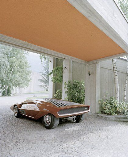 sport car concepts 70-90 LanciaStratosZero