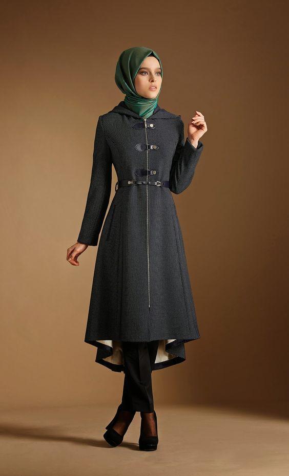 tenue et v tements hijab hiver modeles femme mohajaba. Black Bedroom Furniture Sets. Home Design Ideas