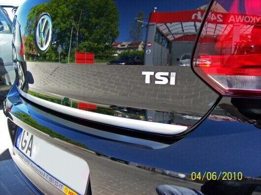 Vw Polo 6r 6c 09 15 Chrome Rear Trim Strip Trunk Tuning Tailgate Boot Martig Vw Polo Vw Volkswagen Tailgate
