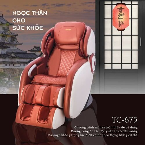 Ghế massage Nhật Bản Tokuyo