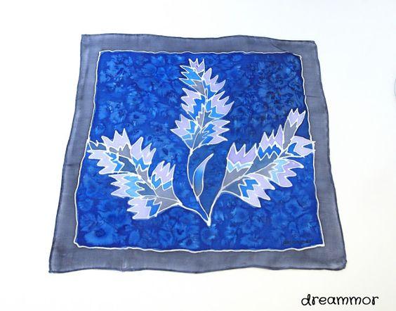 Dreammor: Como hacer... pintar un pañuelo de seda