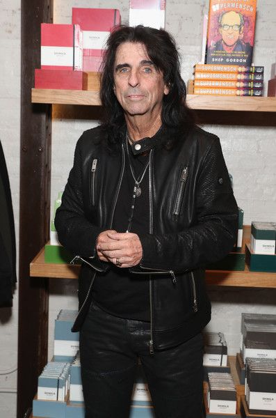 Alice Cooper Photos Photos - Alice Cooper attends as Alice Cooper, Shep Gordon and Shinola celebrate the release of Gordons Memoir, They Call Me Supermensch' on September 27, 2016 at Shinola Tribeca in New York City. - Alice Cooper, Shep Gordon, and Shinola Celebrate the Release of Gordon's Memoir 'They Call Me Supermensch'