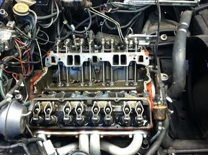 Vette engine.