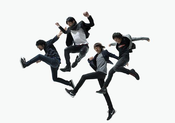 飛んでいる四人のmr.childrenの壁紙