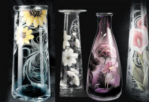 vase gravure sur verre gravure sur verre pinterest vase. Black Bedroom Furniture Sets. Home Design Ideas