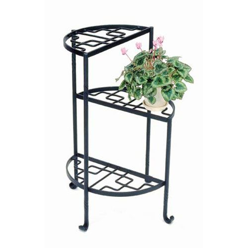 iris wrought iron plant stand achla designs wrought iron
