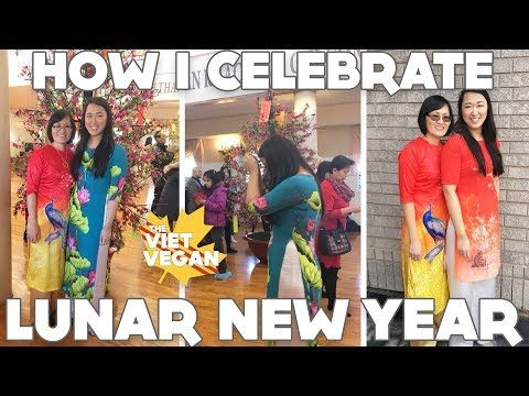 How I Celebrate Lunar New Year Vegan Food Family Shenanigans Youtube In 2020 Lunar New Vegan Newyear