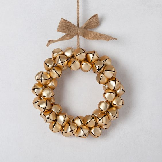Coroa guizos dourados - Novidades - Decoração | Zara Home Portugal