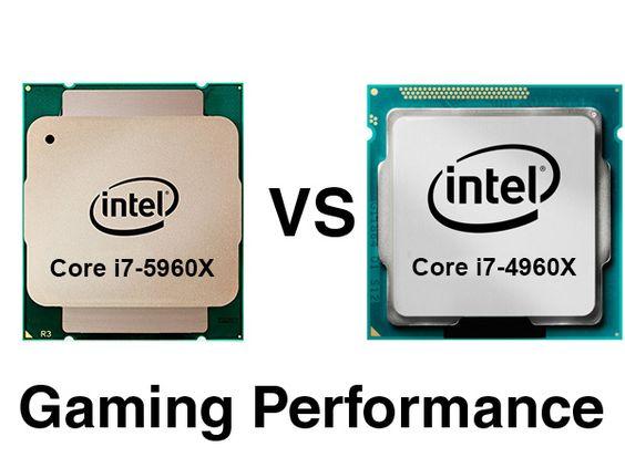 Core i7-5960X vs i7-4960X Gaming-Performance - FullHD, 1440p, UHD - performance reviews