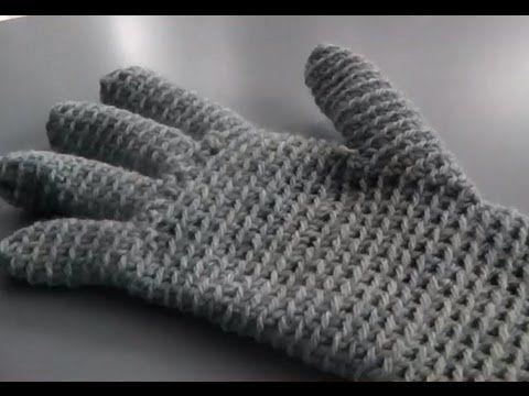 Handschuhe häkeln Anleitung Handarbeiten (German only)
