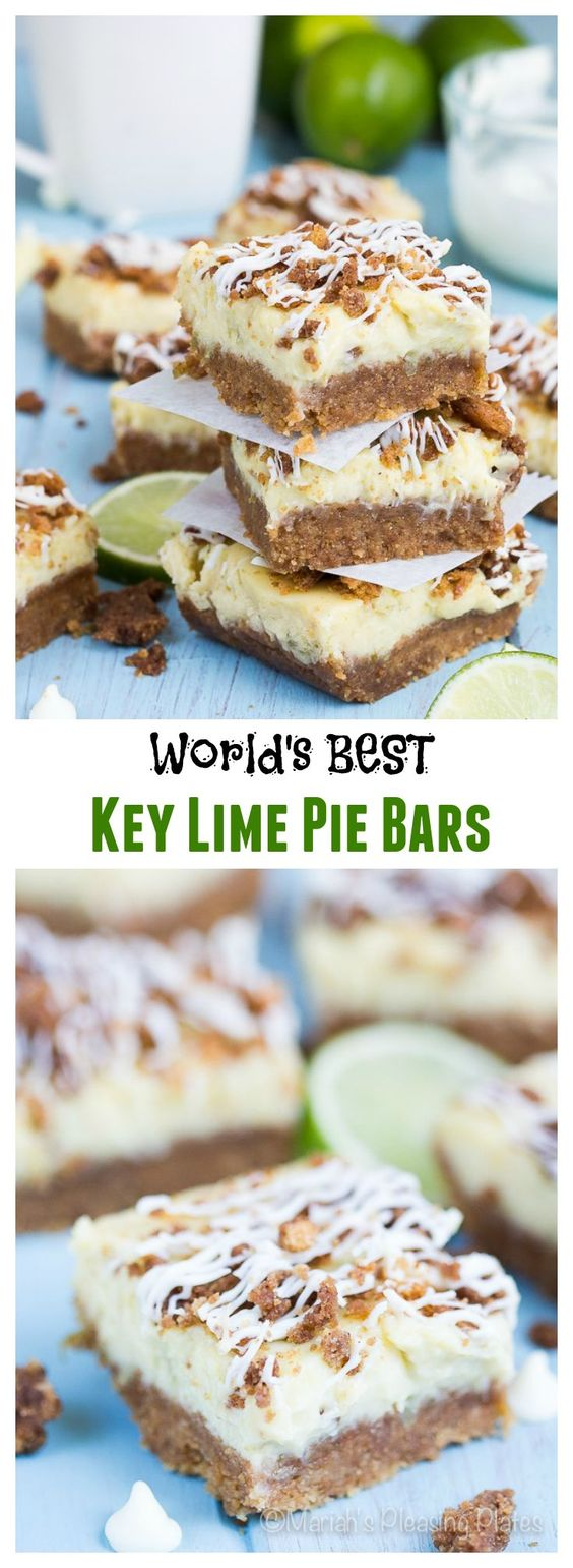 The perfect balance of sweet and tart, these Graham Streusel Key Lime bars are a yummy treat for any occasion! A perfected 3 ingredient key lime filling sets atop a buttery graham cracker crust, topped with a sweet vanilla streusel and white chocolate drizzle.