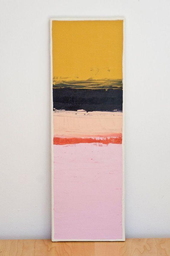 COLOR BLOCK SERIES: 29 / Acrylic Original Painting. $52.00, via Etsy.