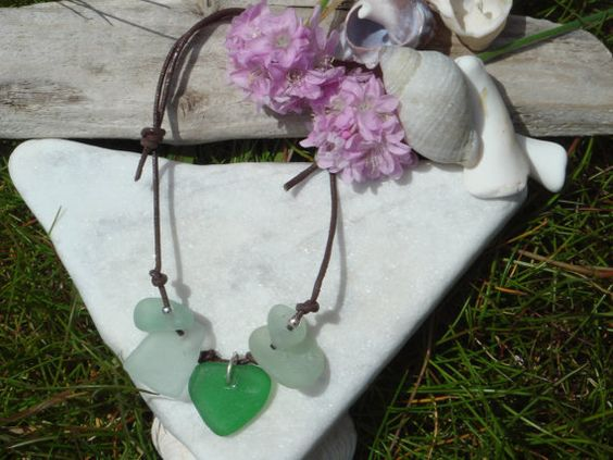 Beautiful hand made Scottish sea glass by ScottishShores on Etsy, £11.99