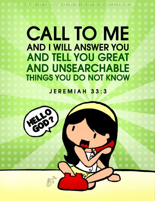 Jeremiah 33:3 ♥     SHARE THE GOSPEL...and look good doing it: http://​heart4jctees.bigcartel.com/