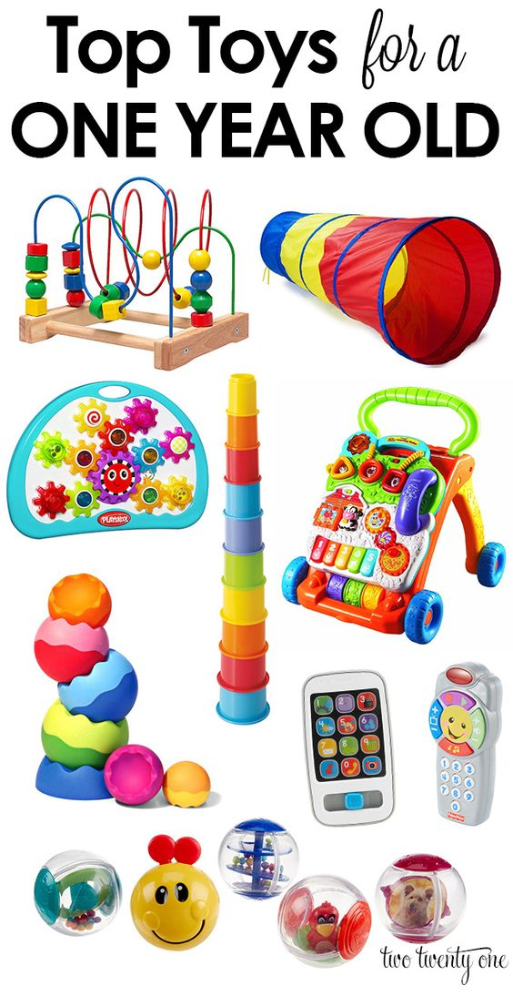 Tried and true top toys for a one year old! Plus, none of these cost more than $25 each!