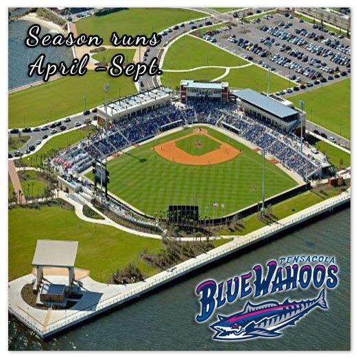 The Pensacola Blue Wahoos Are A Minor League Baseball Team Based In Pensacola Florida The Team Plays Pensacola Major League Baseball Teams Baseball Stadium